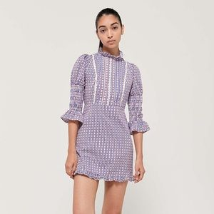 Urban Outfitters x Laura Ashley Mock Neck Dress
